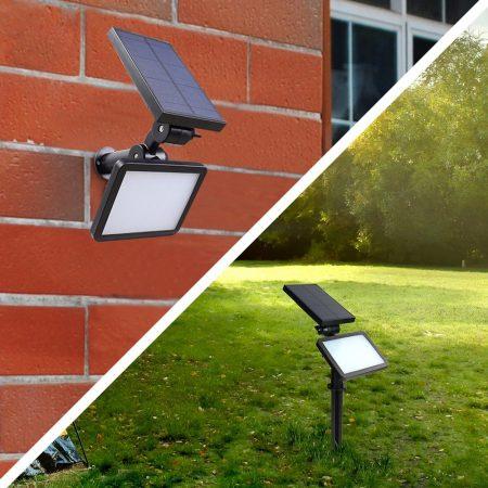 Solar Lámpa-Brutál Erős Fényű-Leszurható/Falra szerelhető