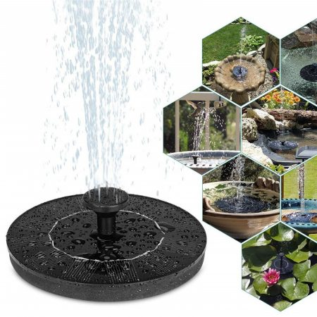 Napelemes, LED-es szökőkút