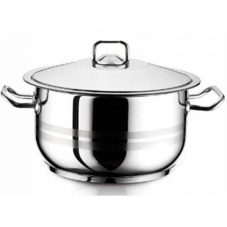 Arian Gastro Rozsdamentes Fazék, 40 x 26 Cm, 33 Literes + Fedő
