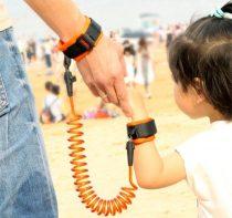 Biztonsági gyerekpóráz csuklóra