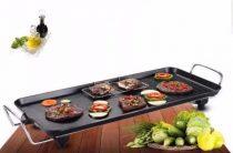 Hometime elektromos grillsütő, asztali grill 1500W állítható