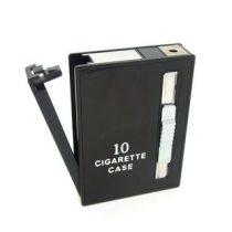 Cigaretta tartó elegáns doboz-öngyújtóval