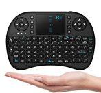 Mini vezeték nélküli billentyűzet touchpad kompatibilis PC, Android, Linux