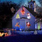 Beltéri Karácsonyi Figurás LED Projektor