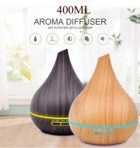 Távirányítós, elektromos aroma diffúzor, illóolaj párologtató