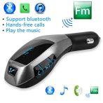 X6 szivargyújtós Bluetooth FM transmitter mp3 lejátszó