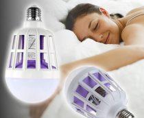 E27 szúnyogírtó LED lámpa UV-fénnyel