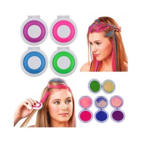 Hajszínező púder készlet - dögös frizura pillanatok alatt