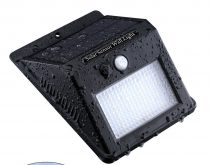 Napelemes mozgásérzékelő LED lámpa