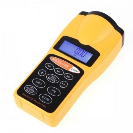Ultrahangos lézeres távolságmérő