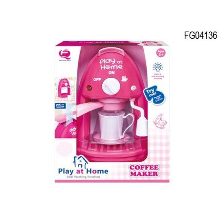 Konyhai játék kávéfőző gép
