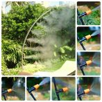 Frissítő szett, párakapu, vízpermet - közel 10 méteres hosszúságban