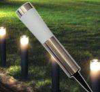 Leszúrható led dekor lámpa / napelemes