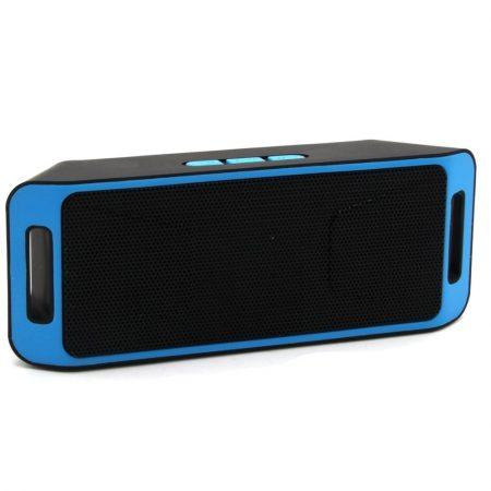 Bluetooth hangszóró, Tel.kihangosító, akkumulátorral, Mp3, USB, TF/Micro SD kártya, Rádió