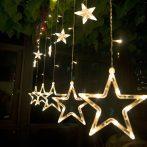 LED csillag beltéri fényfüggöny