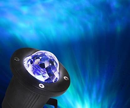 Színes kültéri RGB LED diszkógömb