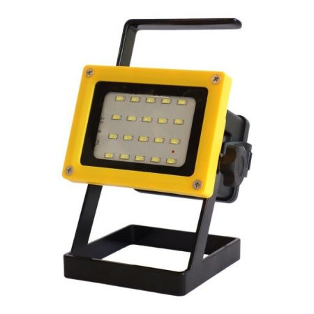 Akkumlátoros LED lámpa állítható állvánnyal