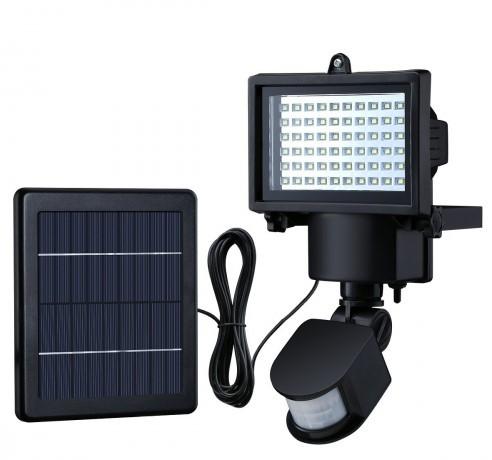 mozgásérzékelős kültéri napelemes led lámpa