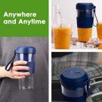 Hordozható Juice Cup Mini utazási gyümölcscentrifuga