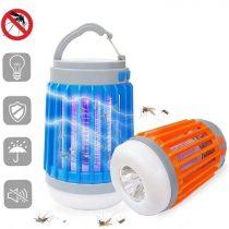 Tölthető led szúnyogirtó és lámpa 2 az 1-ben