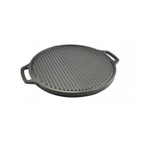 Perfect Home Öntöttvas grill serpenyő Kétoldalas 45 cm