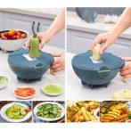 Többfunkciós zöldség -és gyümölcsszeletelő szett