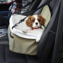 Autós biztonsági kutyaülés / kisállat hordozó