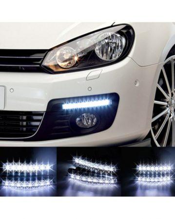 LED DRL nappali menetfény -  2X 9LED