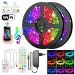 Bluetooth RGB LED szalag - mobiltelefonról vezérelhető / 15m