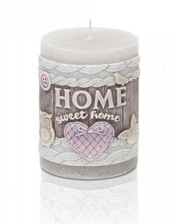 Home sweet home-feliratos gyertya
