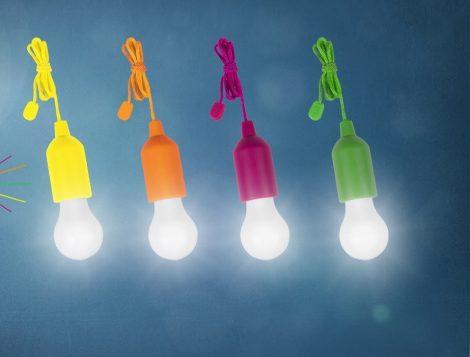Vezeték nélküli LED lámpa szett 4 db/csomag