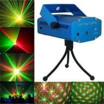 Lézer projektor, hangvezérelt disco fény