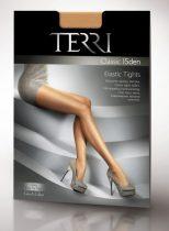 TERRI - Classic 15 denes Elastan-szálas harisnyanadrág lábujj megerősítéssel