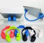Univerzális, rugalmas telefon tartó-Thumb Stand