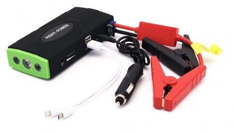 Autós gyorsindító külső akkumulátor és Powerbank