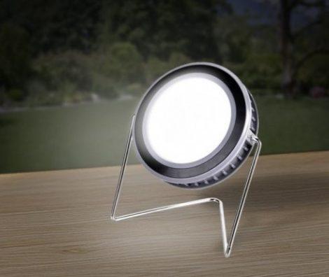 Solar Zoom napelemes kör alakú akkumulátoros kemping lámpa