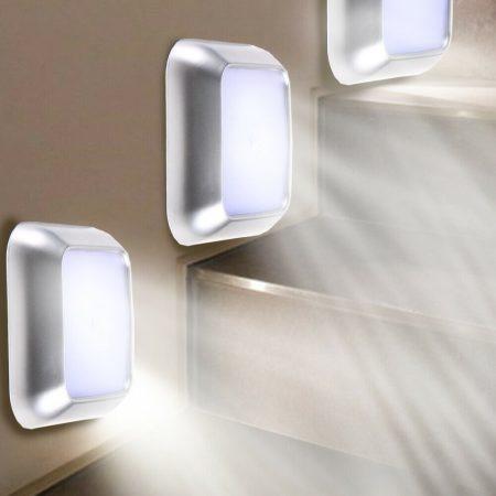 Mini LED lámpa – mozgásérzékelővel és mágnessel