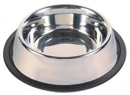 Kutyatál rozsdamentes acélból 25,5 cm