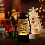 Karácsonyi LED felakasztható lámpás - zenélő2