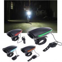 Bicikli lámpa elektromos kürt