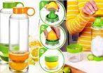 Citrus Zinger - citrom, lime és narancs facsaró / kulacs