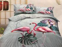 7 részes 5D Hatású Flamingó Ágynemű