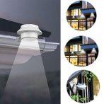Napelemes 3 ledes kültéri lámpa 2 db/csomag