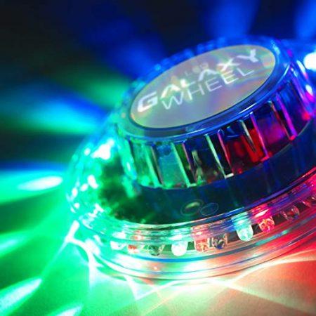 LED galaxiskerék-Disco fény