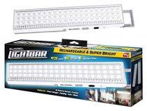 Újratölthető hordozható LED reflektor