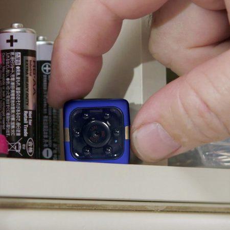 Ultra mini digitális SD video kamera, hobbi és sportkamera