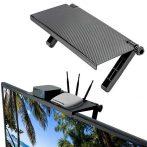 Helytakarékos monitor polc / laptopra, tévére, bármilyen monitorra