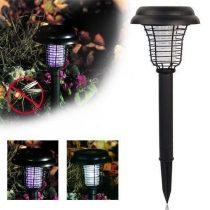 Napelemes szúnyogriasztó, rovarriasztó kerti lámpa