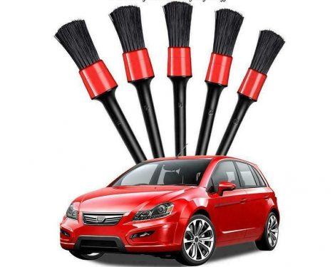Autókozmetikai Ecset 5 részes