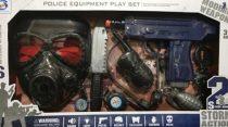 Játék rendőr felszerelés hang és fényhatásokkal